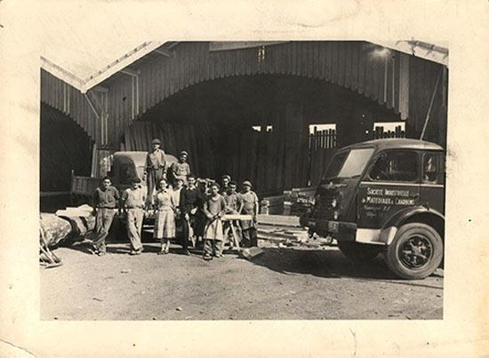 la SIMC 1945, Un pays à rebâtir