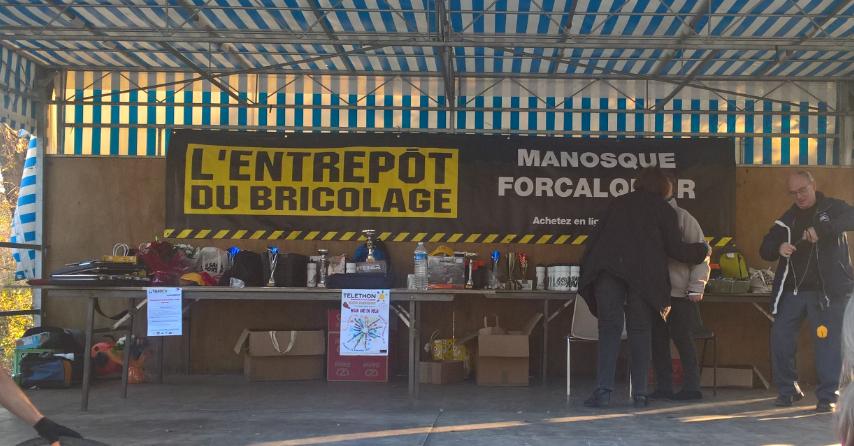L'entrepôt du Bricolage Manosque et Forcalquier, partenaires !
