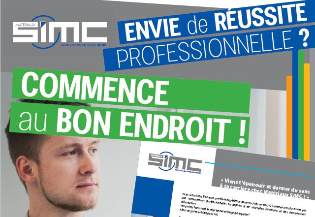 Recrutement alternance : Nouvelle campagne CQP chez SIMC !