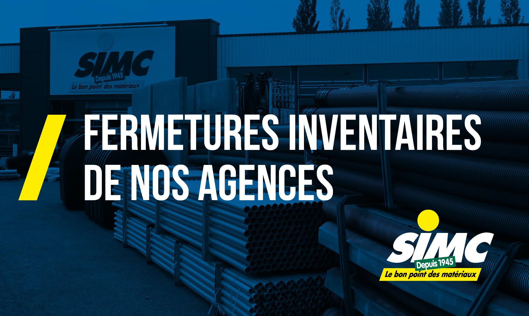Inventaires & Fermetures Annuelles 2020